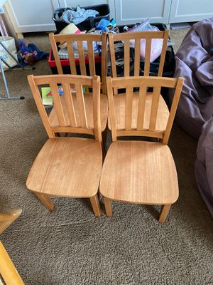Wooden chairs - kids for Sale in Gilbert, AZ