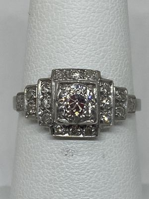 Platinum Diamond Ring for Sale in Lombard, IL
