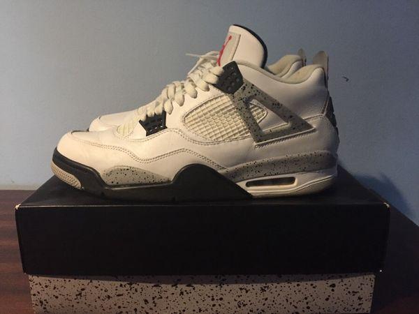 Air Jordan cement 4 2012
