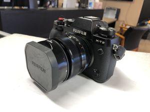 Fujifilm X-T2 Mirrorless Digital Camera 35mm Fujifilm Lens for Sale in Scottsdale, AZ