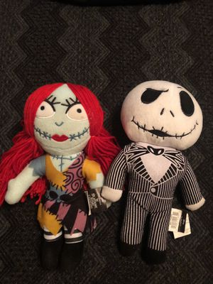 Nightmare Before Christmas Jack & Sally Collectible Dolls (Pair) for Sale in Portland, OR