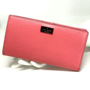KATE SPADE Pink Large Slim Bifold Wallet for Sale in Orlando, FL