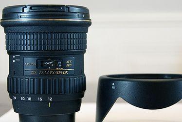 Tokina SD 12-24mm F4 (IF) DX ATX Pro for Sale in Scottsdale,  AZ