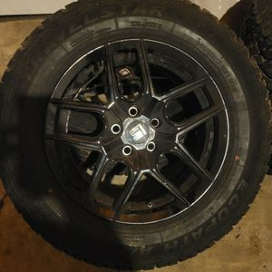 Set of 4 tires and wheels. for Sale in Bloomington, IL