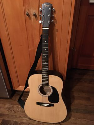 Fender Squier acoustic guitar for Sale in San Diego, CA