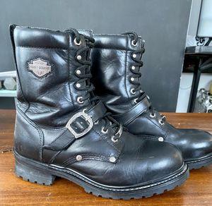 Men's Harley Davidson Motorcycle Boots. Size 10 for Sale in Yorktown, VA