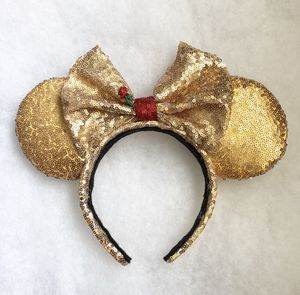 Belle Beauty and The Beast Disney ears for Sale in Compton, CA