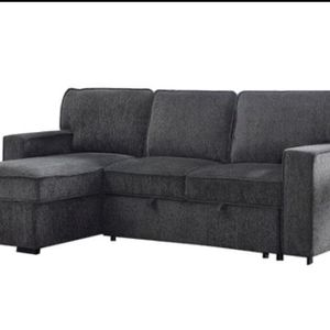 Sectional sofa Reversible Sleeper Sofa & Chaise/ In Stock! for Sale in Norco, CA