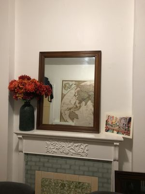 Wooden Wall mirror. 2 pieces for Sale in Washington, DC
