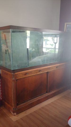 180 gallon aquarium set up for Sale in Sterling, VA