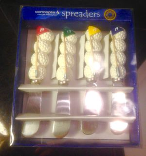 Golf Ball Cheese Spreaders new in box for Sale in Norfolk, VA