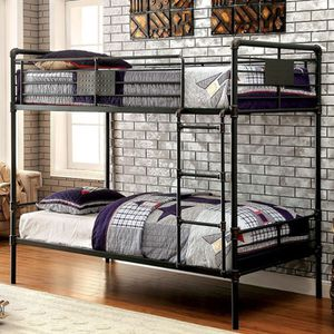 Full full bunk bed metal for Sale in City of Industry, CA