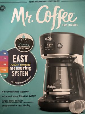 Mr. Coffee Easy Measure 12-Cup Programmable Coffee Maker for Sale in Cypress, TX