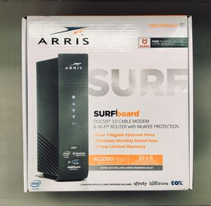 WiFi Router Cable Modem for Sale in Woburn, MA