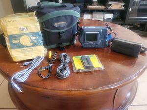 SONY MAVICA MVC-FD100 DIGITAL CAMERA & ACCESSORIES for Sale in Allen, TX