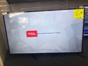 TCL ROKU SMART TV W/Remote for Sale in Charlotte, NC