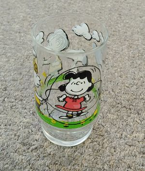 Peanuts Tumbler Glass for Sale in Burlington, NC