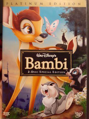 Disney Bambi dvd for Sale in Pomona, CA