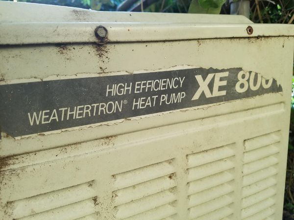 trane weathertron heat pump XE 800 air conditioner for Sale in Winter  Garden, FL - OfferUp