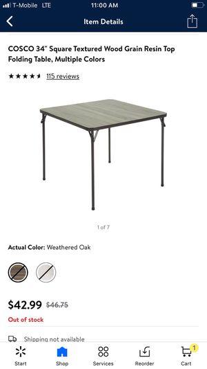 Folding table for Sale in Las Vegas, NV