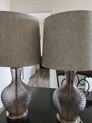 Grey Glass Lamps for Sale in Vernon, CA