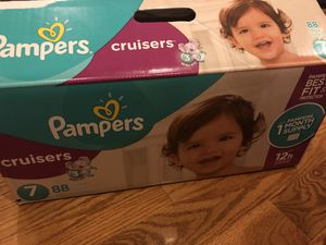 Pampers cruiser size 7 (44) diaper unopen for Sale in Queens, NY