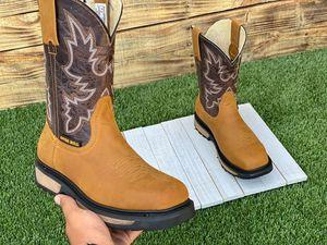 NON STEEL TOE WORK BOOTS $79 for Sale in San Antonio, TX