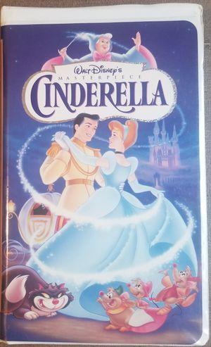 Walt Disney's Cinderella vhs movie for Sale in Three Rivers, MI