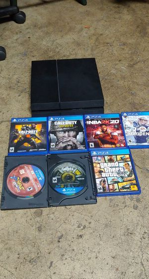 Ps4 500gb 1st Gen 6 games for Sale in Vancouver, WA