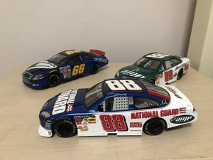 Collection of 1:24 Diecast NASCAR cars in good condition for Sale in West Haven, CT