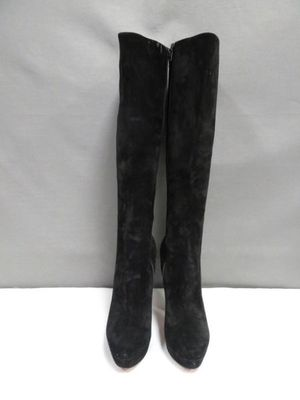 AUTHENTIC CHRISTIAN LOUBOUTIN SUEDE BOOTS 38.5 for Sale in Los Angeles, CA