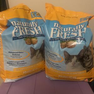Naturally Fresh Walnut Cat Litter for Sale in Portland, OR