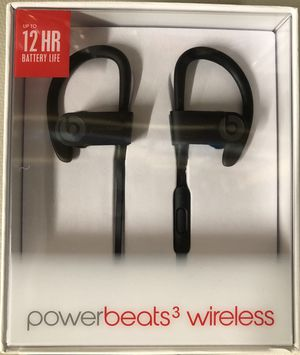 Powerbeats 3 wireless brand new sealed box (black) for Sale in Columbus, OH
