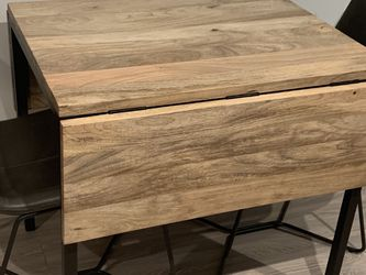 West Elm Drop Leaf Dining Table With 2 Dining Chairs for Sale in San Diego,  CA