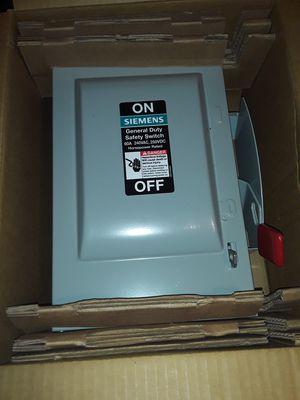 Siemens Brand new Breaker Box for Sale in Memphis, TN