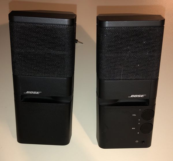 BOSE Black MediaMate Computer Speakers Desktop