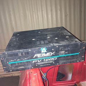 Peavy 1200 Watt Professional Amplifier for Sale in Phoenix, AZ