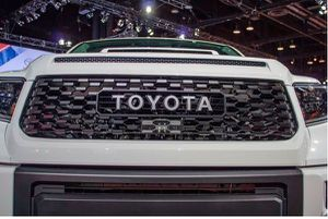 Trd Pro Grille (Gloss Black) For 2014-2020 Toyota Tundra With TSS Sensor Garnish for Sale in Fullerton, CA