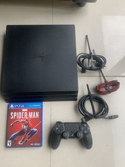 PS4 Pro with Spider-Man for Sale in La Habra Heights, CA