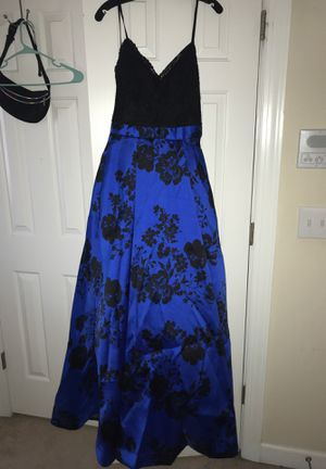 Navy Blue and Black Prom Dress for Sale in Fuquay-Varina, NC