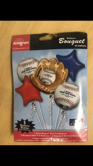 Baseball balloon bouquet for Sale in Wolcott, CT