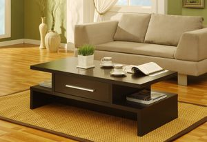Coffee Table with One Drawer , Coffee Bean for Sale in Bell Gardens, CA