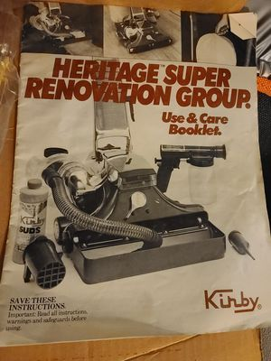 Kirby vacuum super renovation group and other Kirby parts for Sale in Belleville, IL