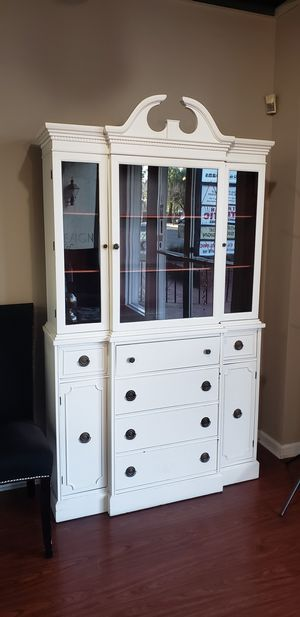 Antique real wood buffet/China Cabinet for Sale in San Jose, CA