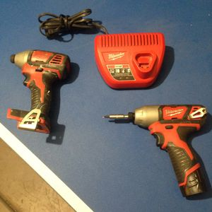 Milwaukee M12 & M18 Drill for Sale in Fowler, CA