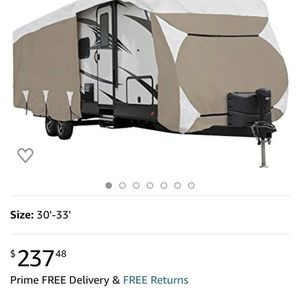 RV /Travel Trailer Cover for Sale in Fairfield, CA