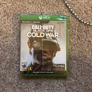 call of duty black ops cold war Xbox Series X for Sale in Grand Prairie, TX