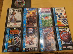 Sega CD video games for Sale in Riverside, CA