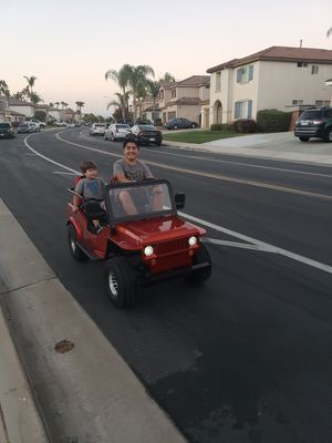 2020 -Jeep 125cc automatic with reverse for Sale in Riverside, CA