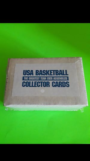 1992 basketball usa Olympics greatest team ever assembled box of 100 cards sealed for Sale in Fresno, CA